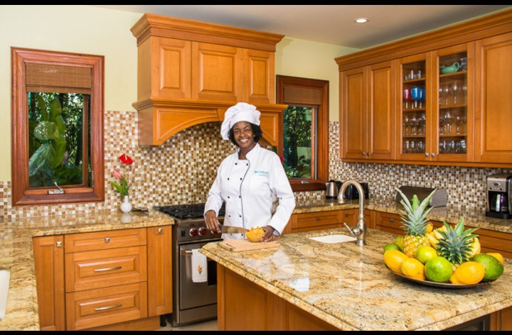 Enjoy delicious meals prepared by Chef Mazie
